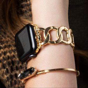 Matte Chain Apple I-Watch Bracelet